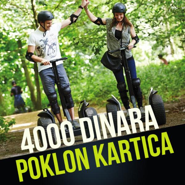 POKLON KARTICA U VREDNOSTI OD 4000 RSD 1
