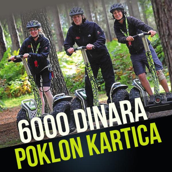 POKLON KARTICA U VREDNOSTI OD 6000 RSD 1